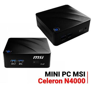 PC MSI Cubi N 8GL CE N4000 Barbone - Mini MSI PC Intel KIT