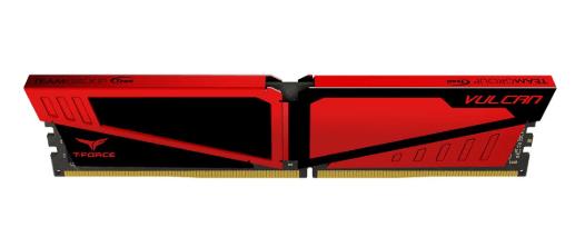 Ram TeamGroup Vulcan 8GB RED DDR4-2400MHz /bảo hành 36 tháng