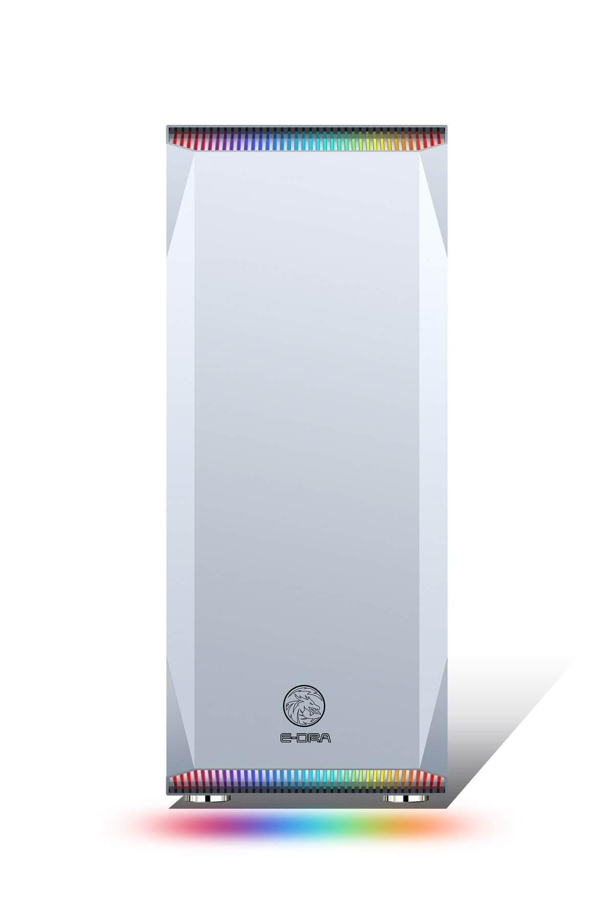 Case AZGAMER  E-dragon Shadow Phonix White  i3 9100F