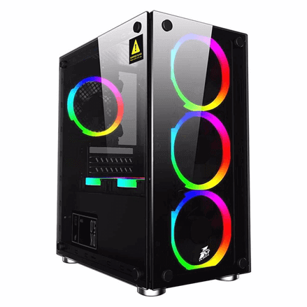 Case AZGAMER  H410 10100 & 1650 SUPER 4GB GALAX