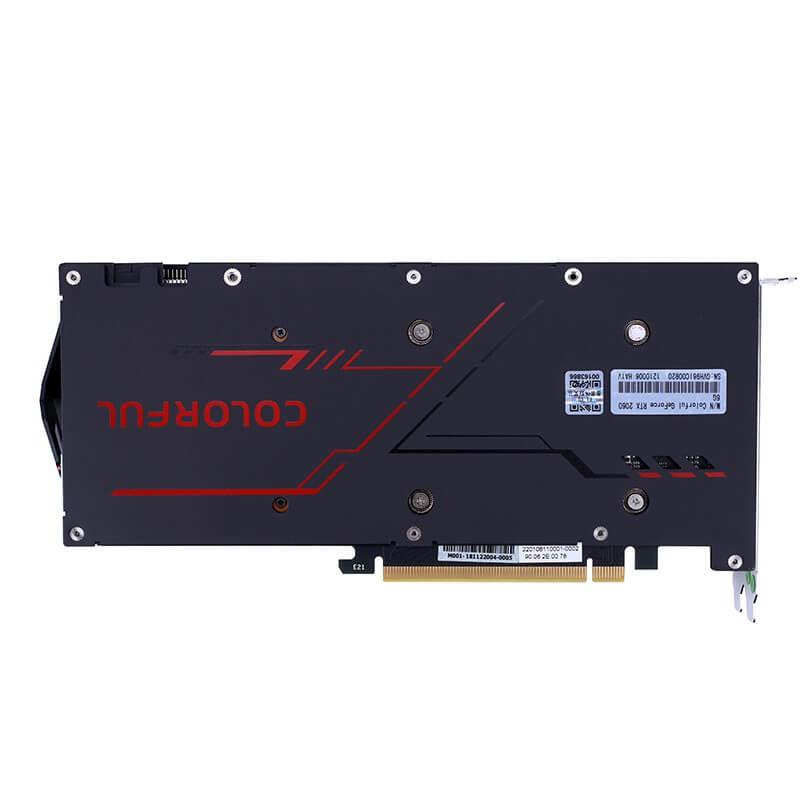 Card COLORFUL GeForce RTX 2060 6G V2 (2fan) Bảo hành 48 tháng