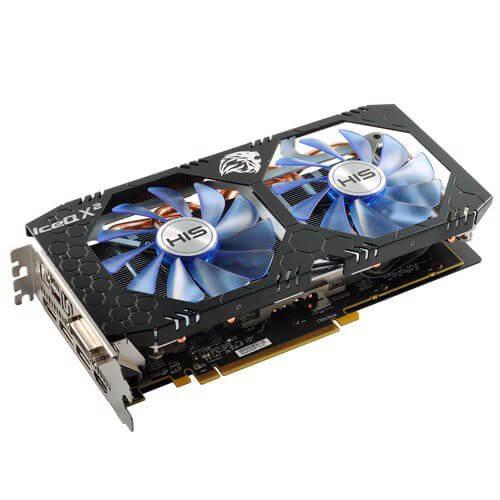 Card màn hình HIS RX 470 ICEQ 8G hàng mới