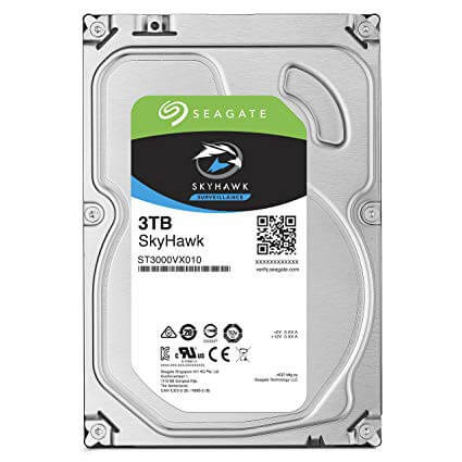 "Ổ cứng HDD Seagate Skyhawk 3TB 3.5"" SATA 3"