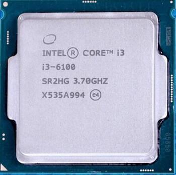 CPU I3 6100 hàng TRAY chưa bao gồm FAN