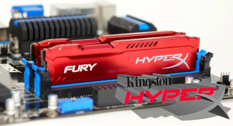 Ram máy tính Kingston Fury Hyper 8Gb 1600MHZ